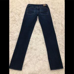Women's AEO Straight Stretch Jeans SZ 6 Extra Long